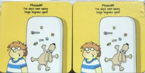 Fridge Magnet Set of Four Funny Table Coasters